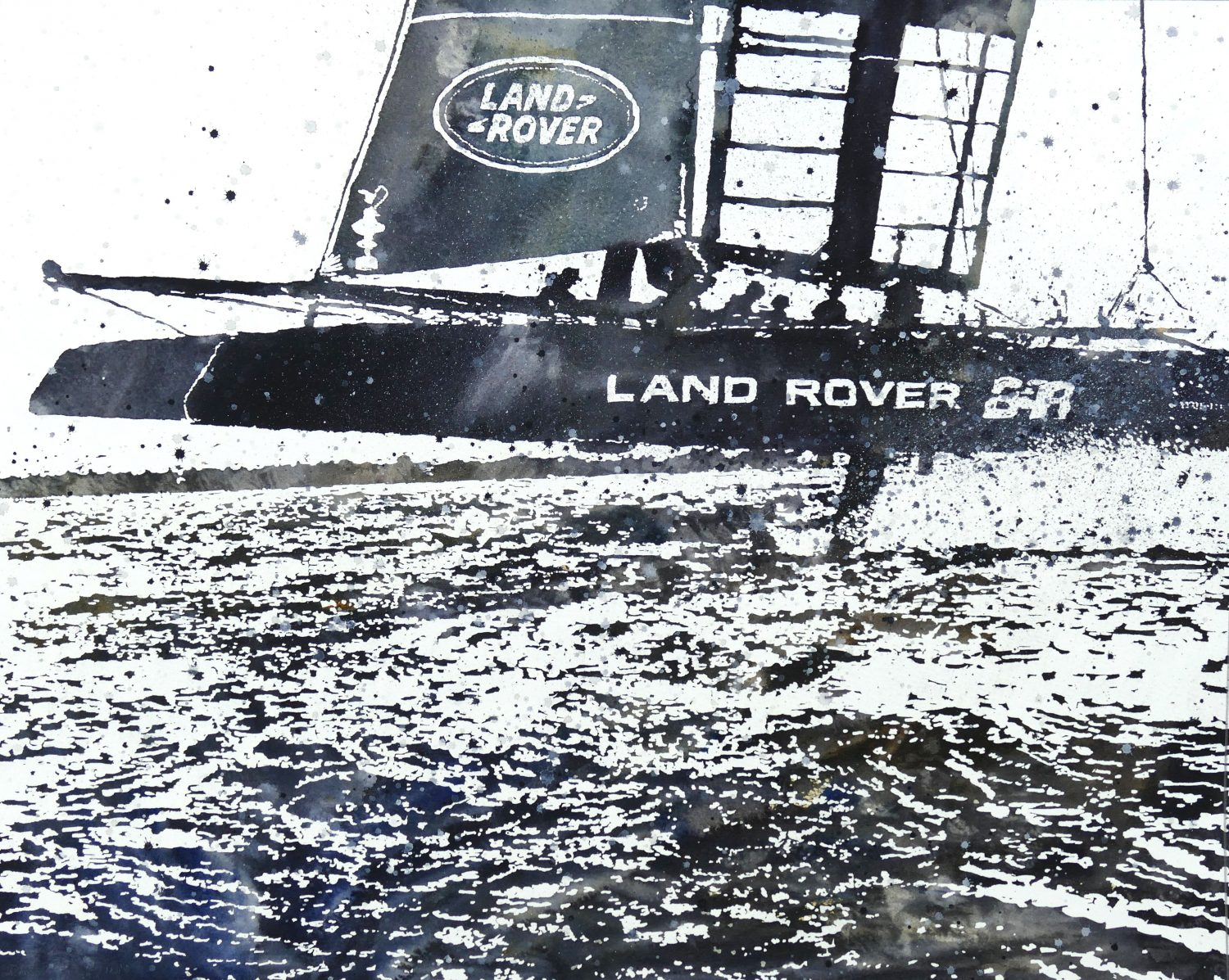 Team GB Foiling on the Solent